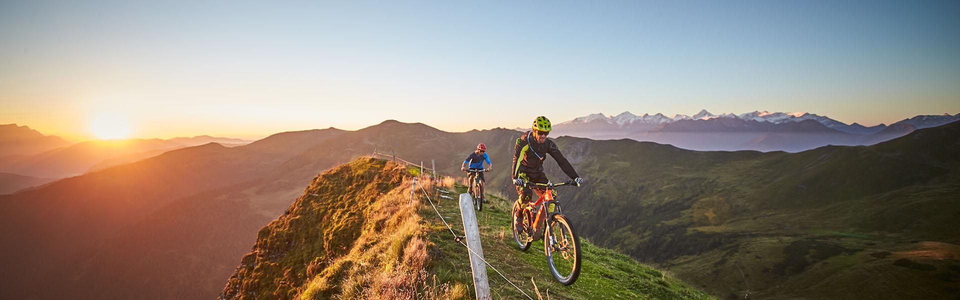 Mountainbiken Saalbach